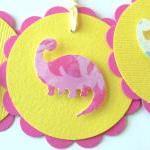 Dinosaur Tags - Set of 4