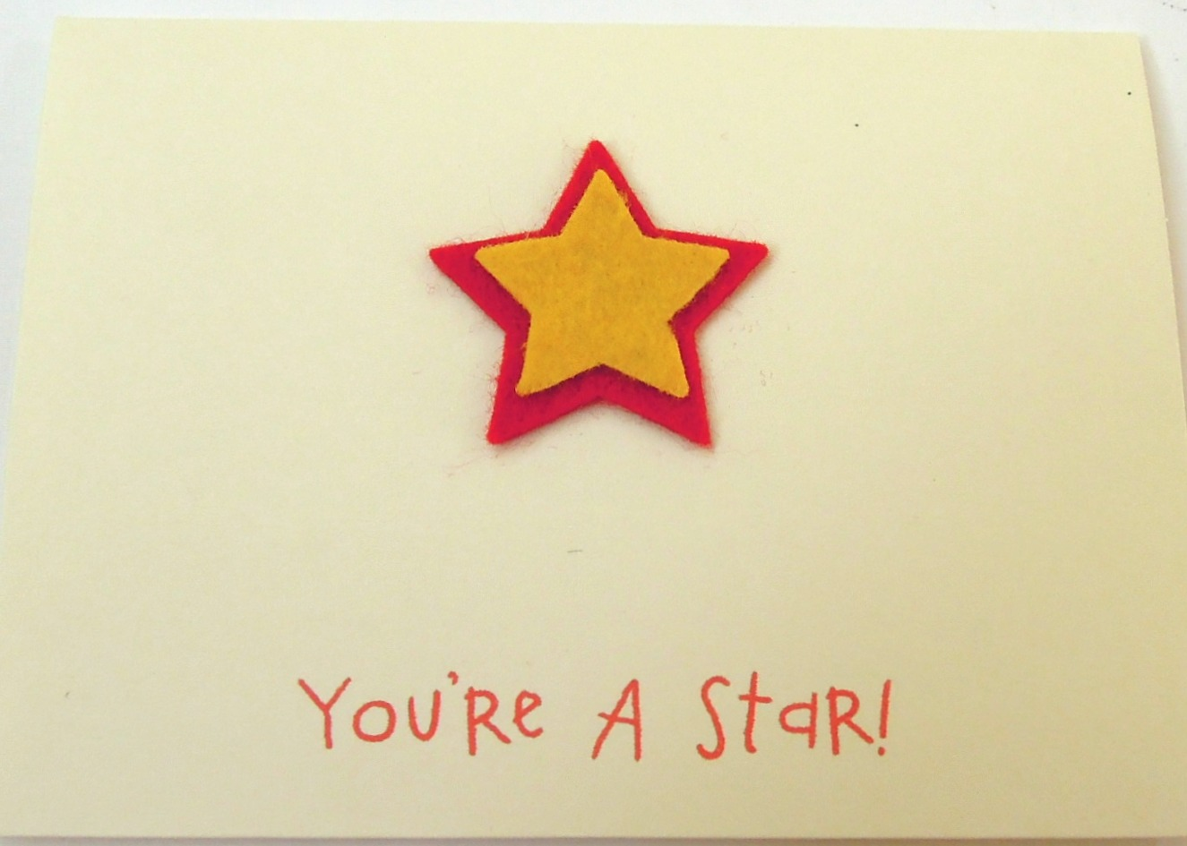 Youre a star handmade all occasionblank greeting card on luulla youre a star handmade all occasionblank greeting card kristyandbryce Images